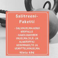 Salitreenipaketti 49e
